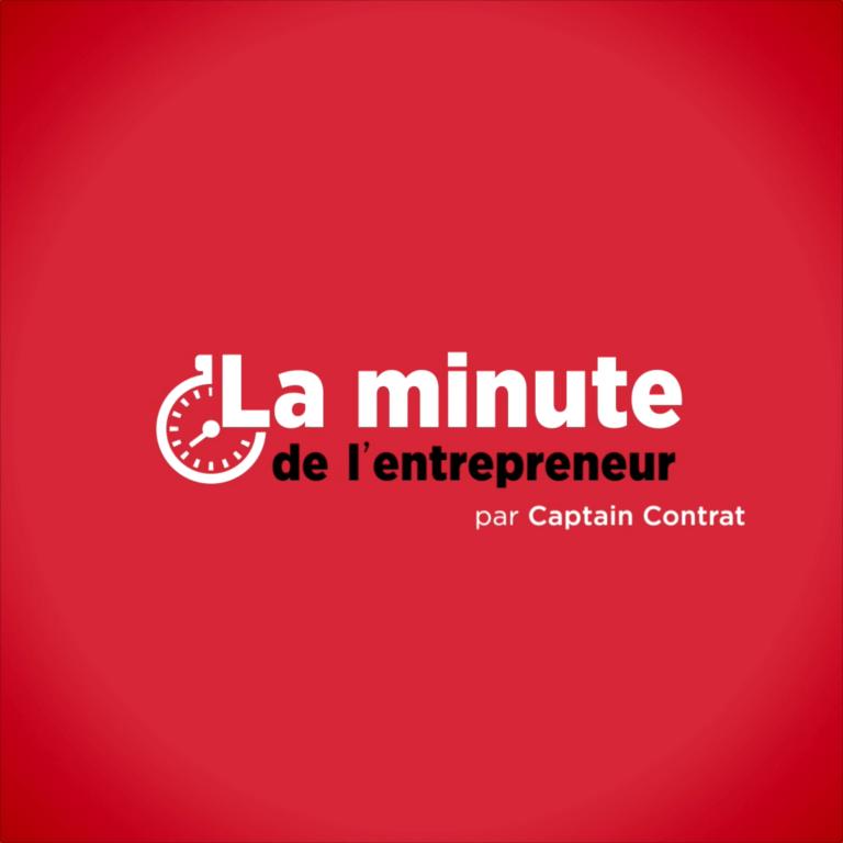 La minute du juridique Captain Contrat
